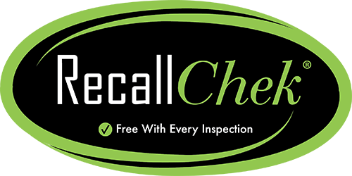 recall chek decal